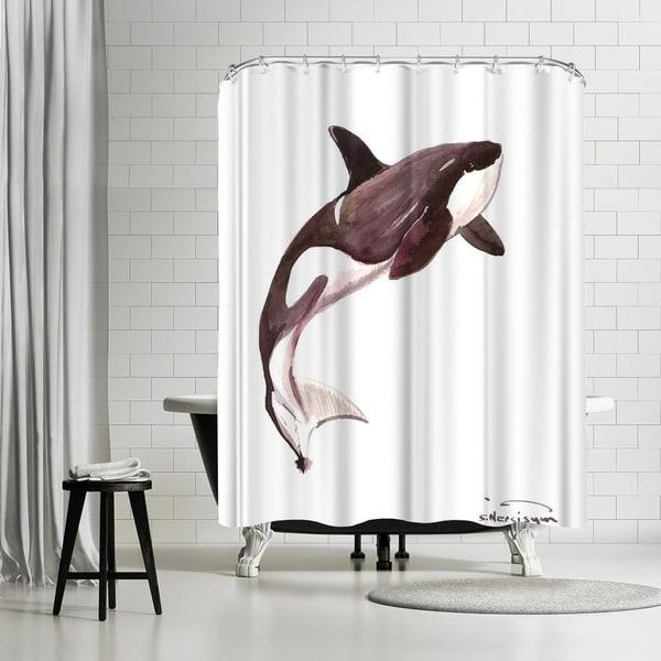 Shop Americanflat Killer Whale Orca Shower Curtain