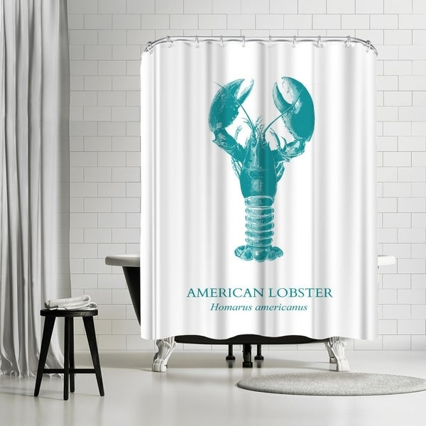 Americanflat Lobster Shower Curtain