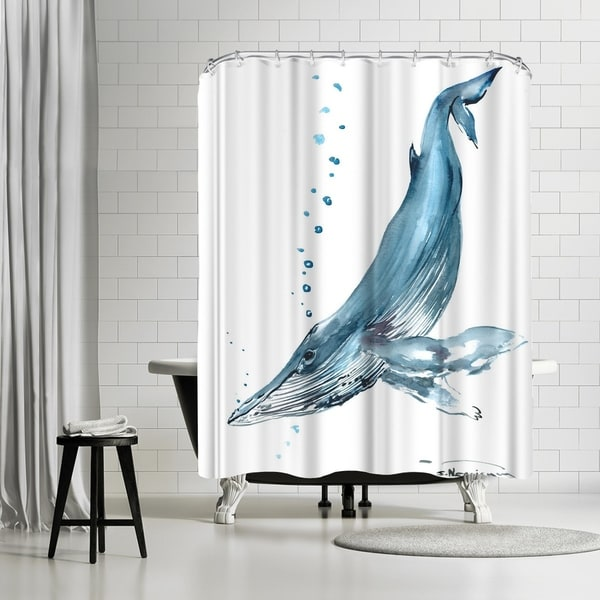 Shop Americanflat Humpback Whale Shower Curtain