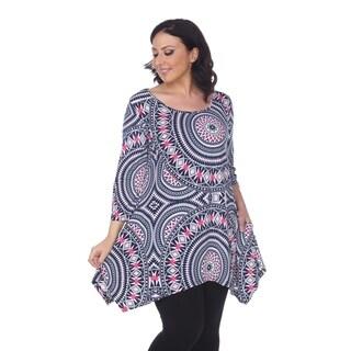 White Mark Women's Plus Size 'Maji' Tunic (3 options available)