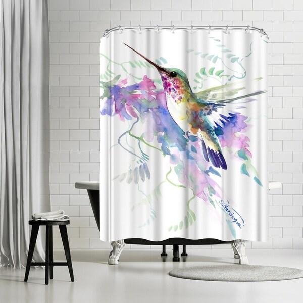 Shop Americanflat Hummingbird Shower Curtain