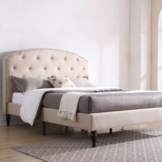PostureLoft Cranleigh Upholstered Platform Bed Frame