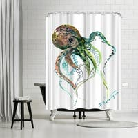 Americanflat 'Octopus 2' Shower Curtain