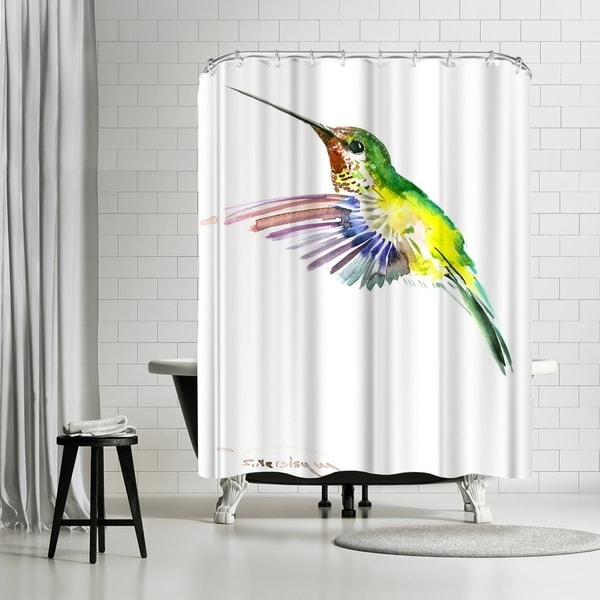 Shop Americanflat Flying Hummingbird Shower Curtain