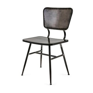 Meyer Black and Bronze Side Chair
