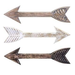 The Gray Barn Lomax Natural Wood Arrows (Set of 3)