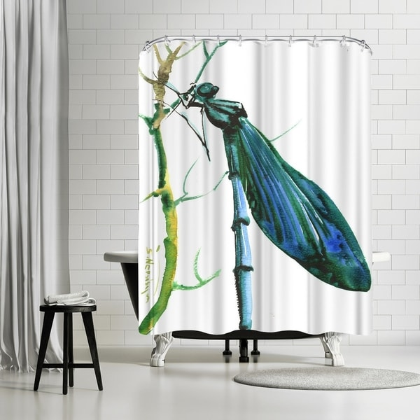 Shop Americanflat Dragonfly Shower Curtain