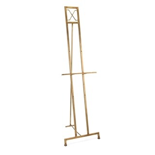 Jamye Brushed Gold Large Floor Easel