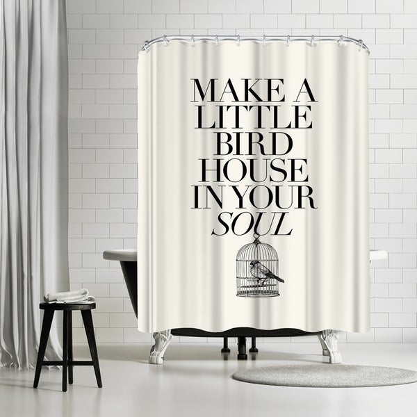 Americanflat Make A Little Birdhouse Shower Curtain