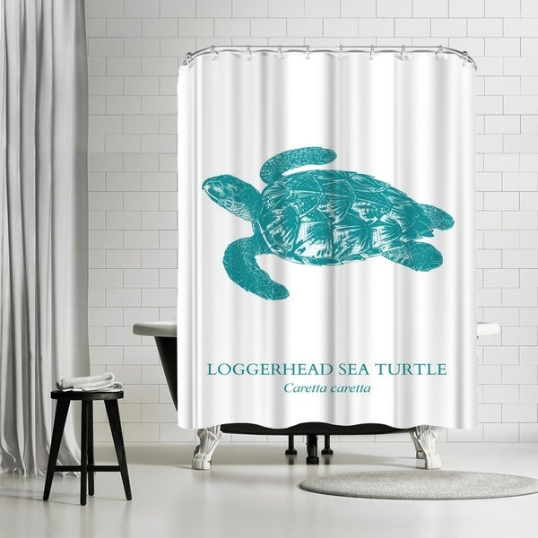 Americanflat Sea Turtle Shower Curtain
