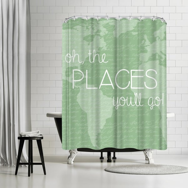 Shop Americanflat Places Fern Shower Curtain