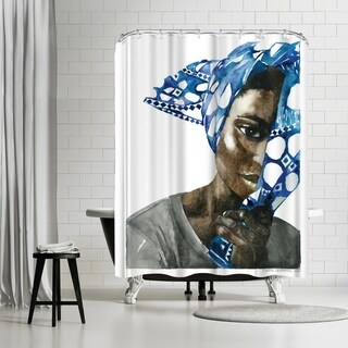 Americanflat 'Africanpride 1' Shower Curtain