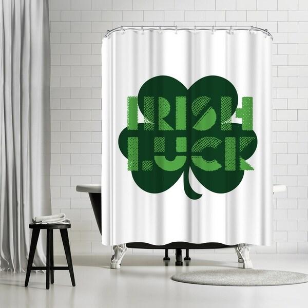 Shop Americanflat Irish Luck Shower Curtain