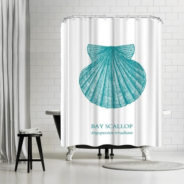 Shop Americanflat Scallop Shower Curtain