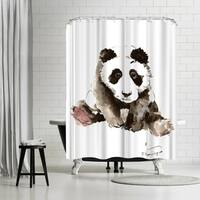 Americanflat Baby Panda Shower Curtain