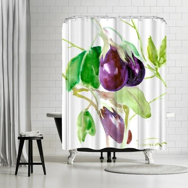 Americanflat Eggplants Shower Curtain