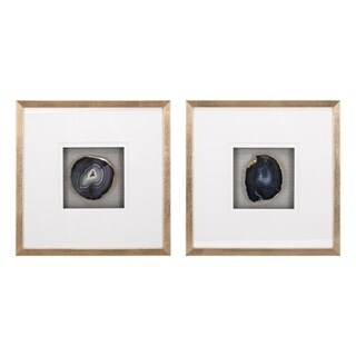 Agate Brown Wall Decors (Ast 2)