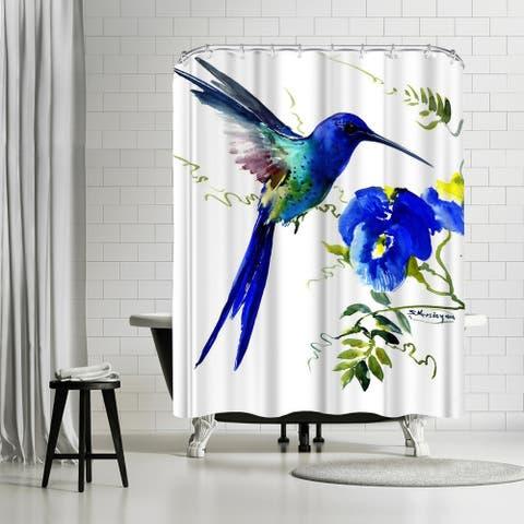 Americanflat 'Hummingbird 2' Shower Curtain