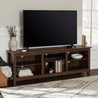 70 inch rustic farmhouse wood tv storage console - Entertainment Centers Tv Stands