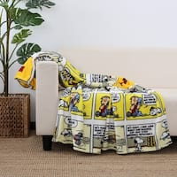 Berkshire Blanket and Home Peanuts® Comic Strip Throw
