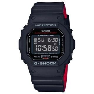 Casio G-Shock DW5600HR-1 Digital Men's Sport Watch (Black/Red)