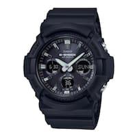 Casio G-Shock Tough Solar Resin/Aluminum Case Men's Watch (Black)
