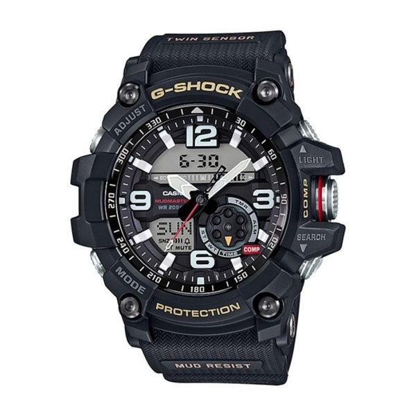 fb1579ee3ed Shop Casio G-Shock Mudmaster Twin Sensor Mens  Sports Watch (Black) - Free  Shipping Today - Overstock - 21505149