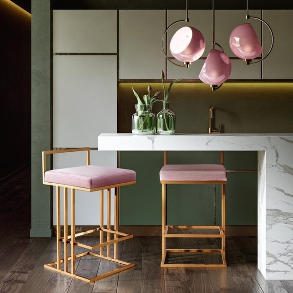 Trevi Blush Counter Stool by Generic