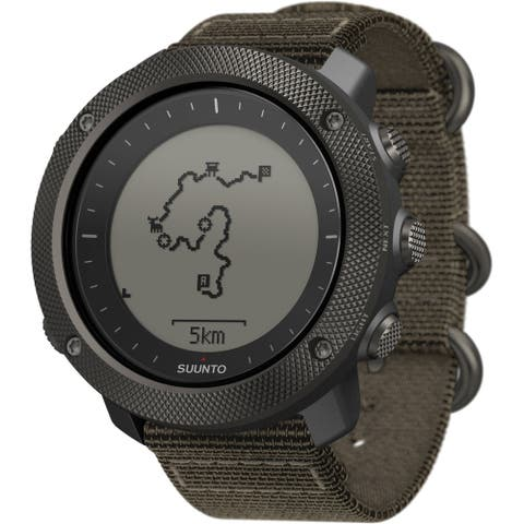 Suunto Traverse Alpha Foliage Green GPS Outdoor Watch - SS022292000