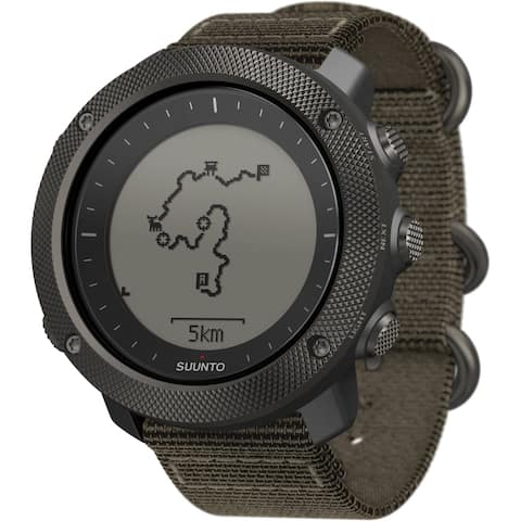 Suunto Traverse Alpha Foliage Green GPS Outdoor Watch