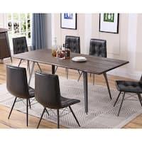 Best Master Furniture Antique Brown Rectangular Table