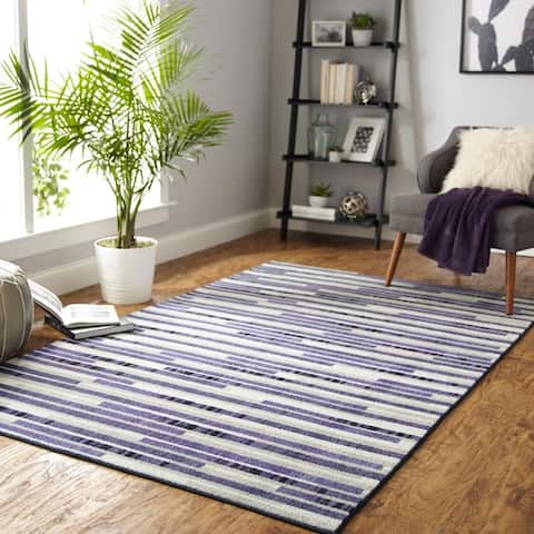 Mohawk Home Prismatic Stacked Tile Area Rug (5'x8')