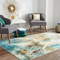 Mohawk Home Prismatic Shoreline Water Area Rug - 5' x 8'