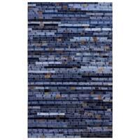 Blue Jeans Repurposed Denim 4x6' Rug - 4' x 6'