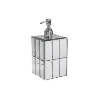 tile mirror soap dispenser