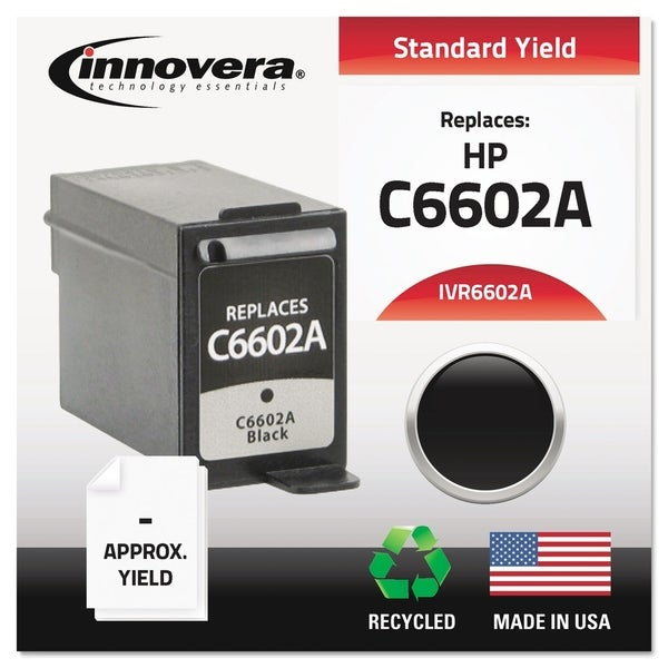 Innovera Remanufactured C6602A Ink, Black. Opens flyout.