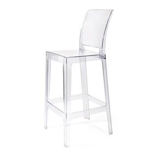 Vitreous Clear Bar Chair