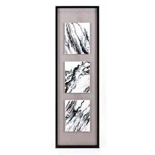 Tradeau Black Framed Oil Painting