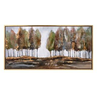 Glisten Gold Framed Oil Painting