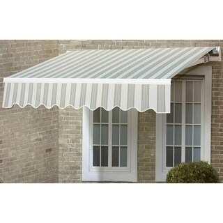 Sunjoy 12 x 10 Manual Awning-Green