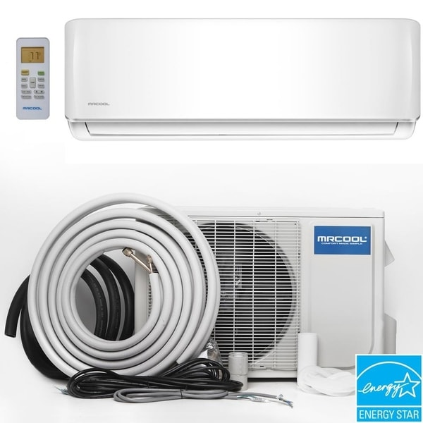 MRCOOL Oasis ES 9,000 BTU Ductless Mini-Split Air Conditioner and Heat Pump 230V/60Hz - White