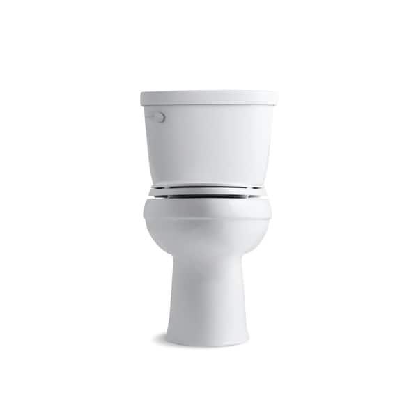Shop Kohler K 3589 Cimarron Comfort Height Two Piece Elongated 1 6 Gpf Toilet With Aquapiston Flush Technology Less Seat Overstock 21506743