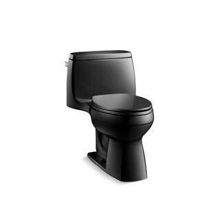 Kohler K-3811 Santa Rosa Comfort Height One-Piece Compact Elongated 1.6 GPF Toilet With AquaPiston Flush Technology And Seat