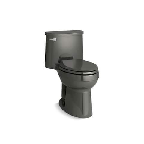 Kohler K-3946 Adair Comfort Height One-Piece Elongated 1.28 GPF Toilet With AquaPiston Flushing Technology And Seat