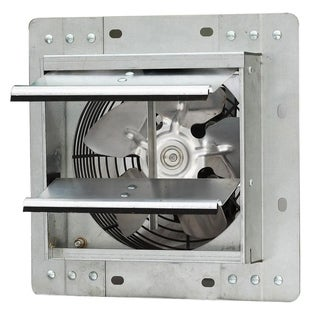 iLiving ILG8SF7V Wall-Mounted Variable Speed Shutter Exhaust Fan Crawl Space Ventilator, 7""