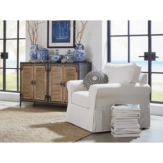 Ave Six Ashton Arm Chair with Removable Slip Cover