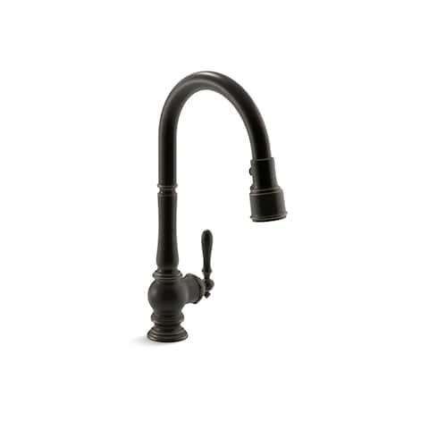 Kohler Artifacts Pullout Spray Single Hole Kitchen Faucet K-99259-2BZ Oil Rubbed Bronze