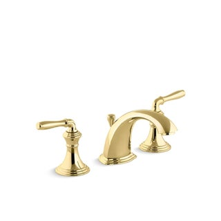Kohler Devonshire Lever Handles Widespread Bathroom Sink Faucet