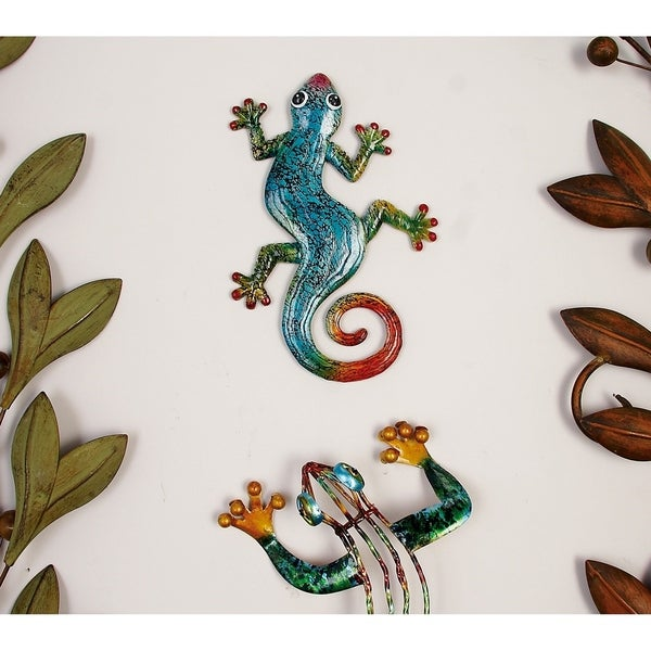 The Curated Nomad Ventura Polystone Gecko (Pack of 4)