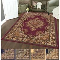 Admire Home Living Caroline Medale Multi Classic Oriental Area Rug (5'5 x 7'7)